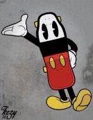 Skateboard Mickey