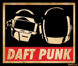 Obey Daft Punk Art